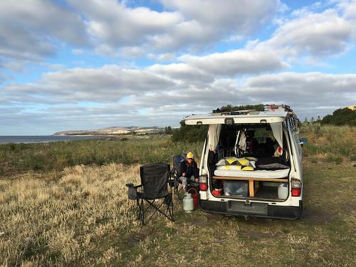 Wildcamping auf dem Weg nach Kangaroo Island