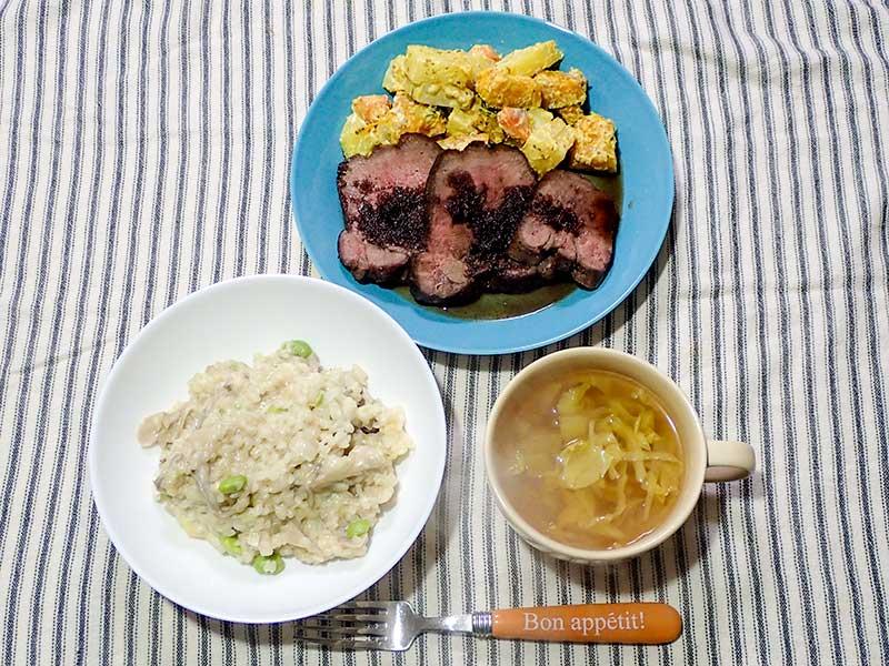 2015年12月25日の晩ご飯