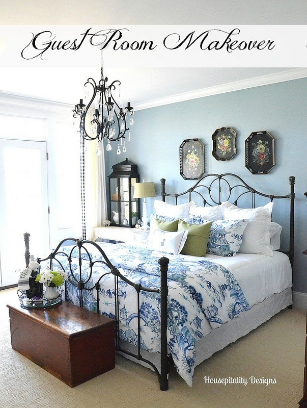Guest Room Makeover 2015 - Housepitality Designs