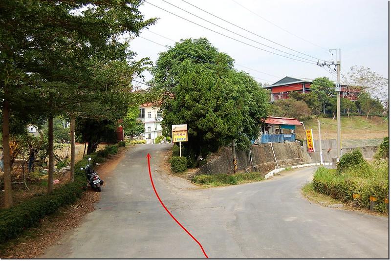 新埔土地調查局圖根點行車路線 1