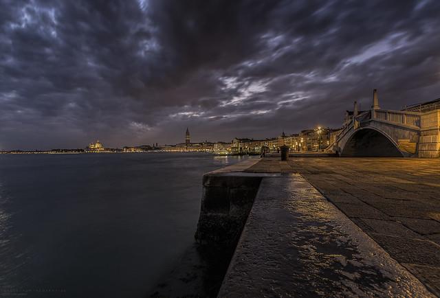 Nightfall in Venice