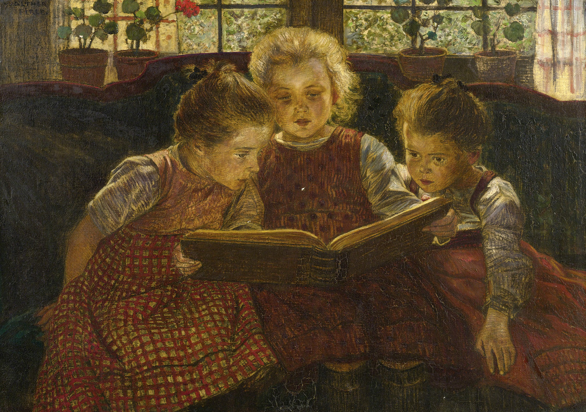 The fairy tale by Walther Firle, 1929