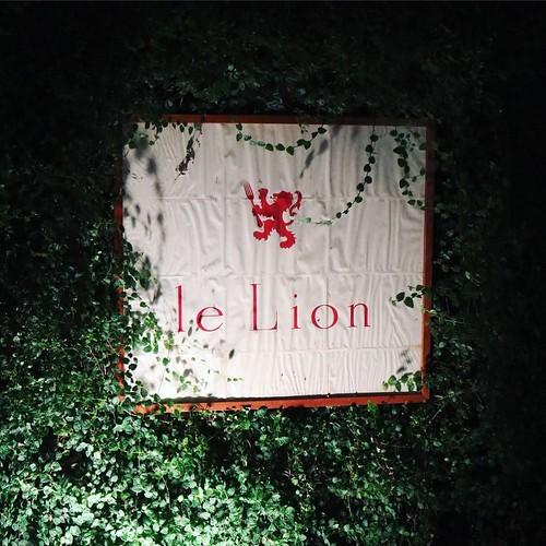 恵比寿の、le Lion