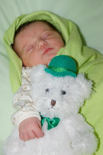 St. Patrick's Bear