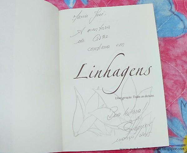 autógrafo, Resenha, livro, Linhagens, Eleonor Hertoz