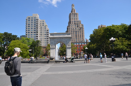 New York Washington Square Aug 15 (5)