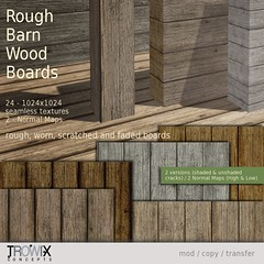 Trowix - Rough Barn Wood Planks Vend