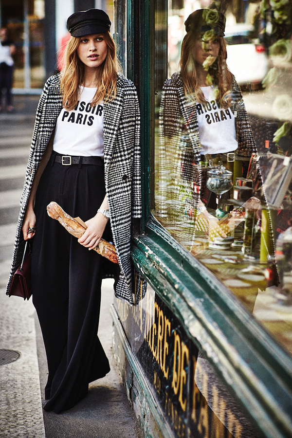 Fall 2015 Trend - French Tomboy Style