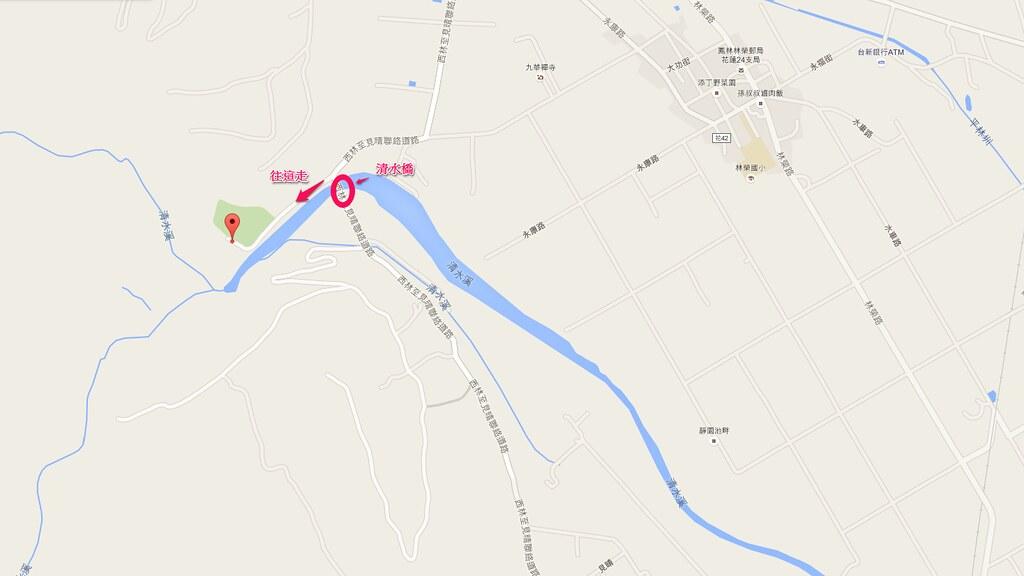清水溪地圖
