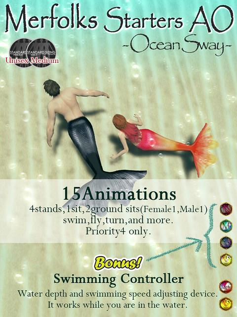 Merfloks startersAO -Ocean Sway-