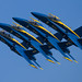 Navy Blue Angels by Kevin Dickert
