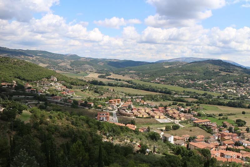 Vista dalla Torre dei Lambardi (Magione)
