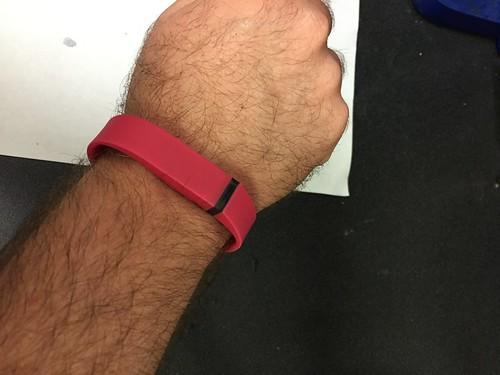 reddish fitbit