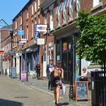 Shops & Cafe's on Winckley Street, Preston