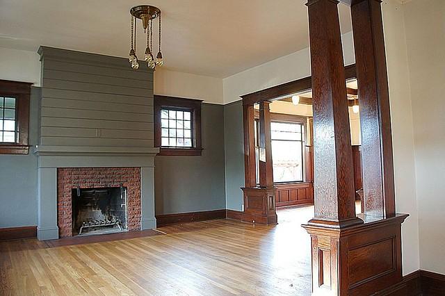 A Custom DIY Fireplace Mantel Beneath Our Shiplap - Old ...