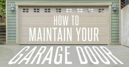 Garage door home warranty coverage banner
