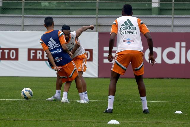 Treino Fluminense 10.09.2015