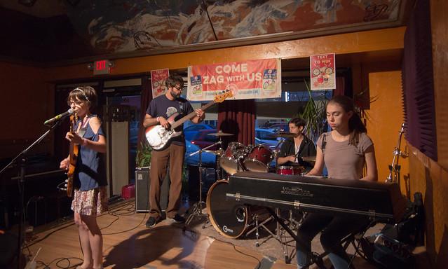 Molly & the Dustbunnies @ The Pizza Shoppe Collective | 9.4.15 | Benson Femme Fest