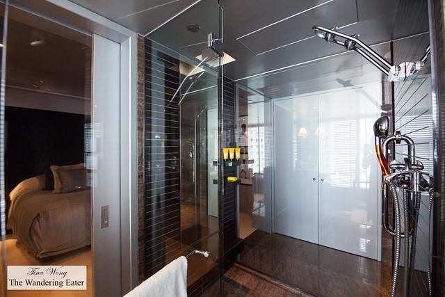 Huge shower at Lichfield Suite