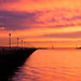Sunset at the Berkeley Pier by mohrgo