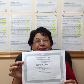 Blanca Nieves Olivera's Business Review and Rating for Municipal Credit Service Corp, Miami FL