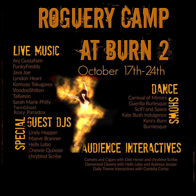 Roguery Camp at Burn 2 2015