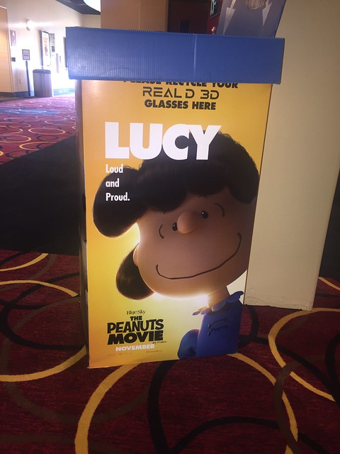 Lucy 3D glasses box.
