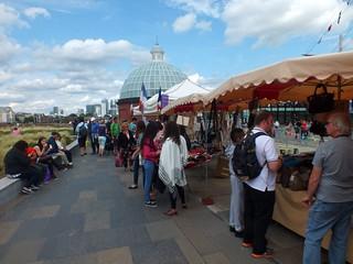 Greenwich - Cutty Sark Gardens - Market