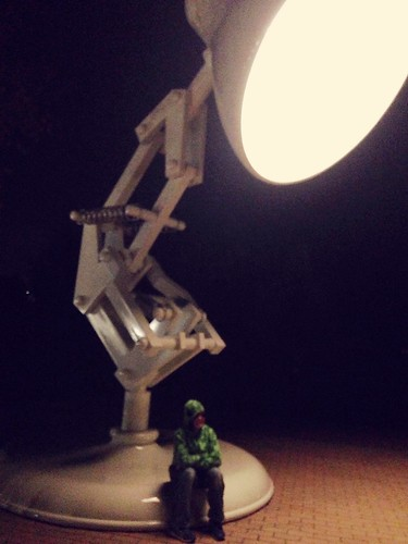 Luxo lit up!