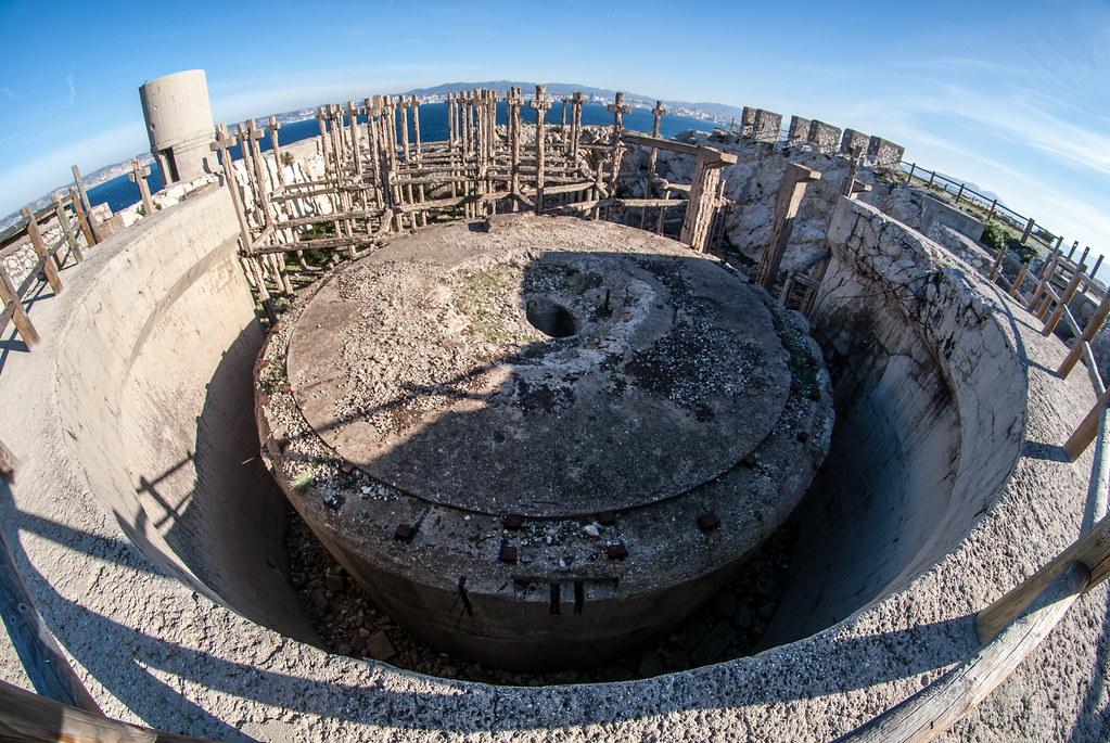 Mar 195a, MKB 9./611, Fort Ratonneau (Frioul, Marseille, 13) - Page 2 22449970894_901e44477d_b