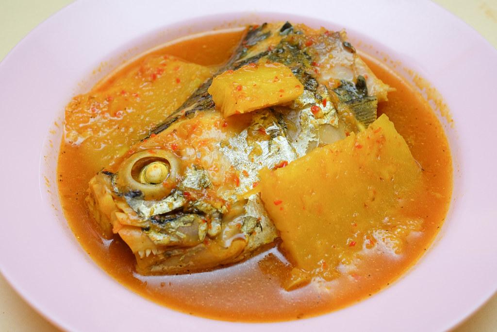 Enak: Curry Fish Head