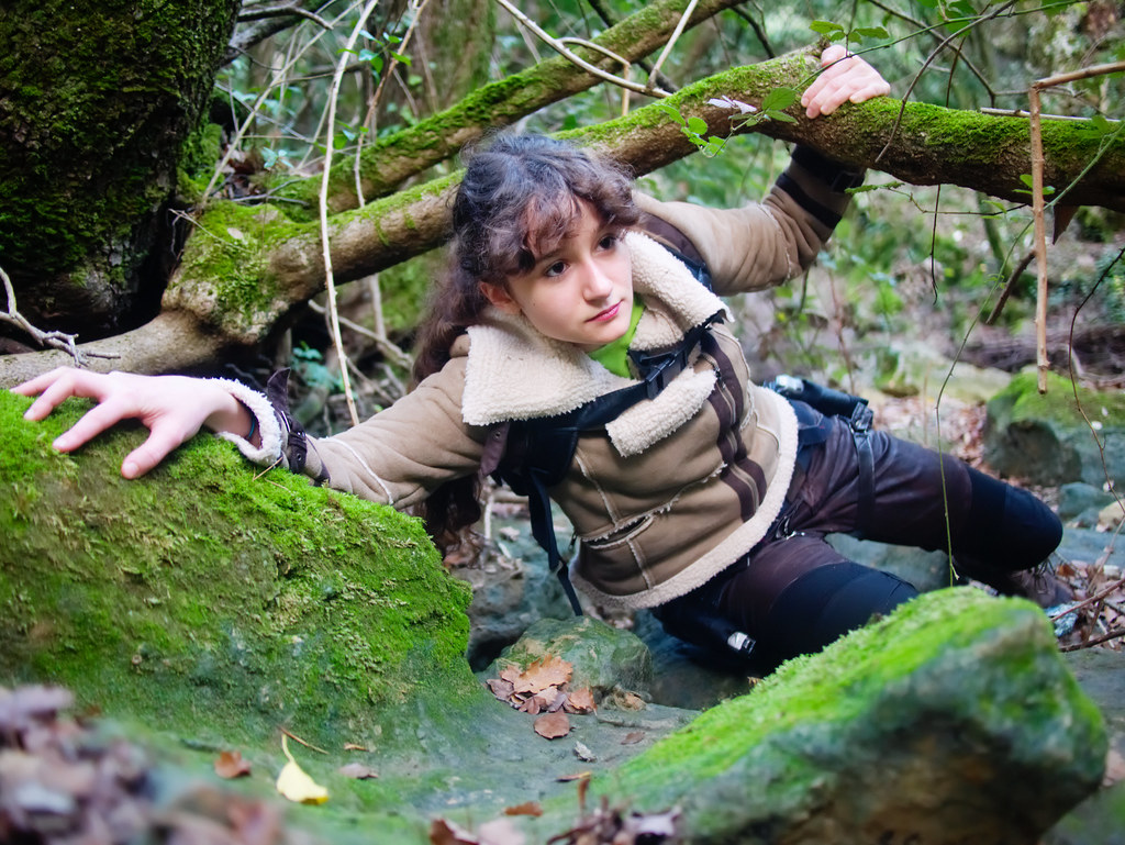 related image - Shooting Lara Croft - Sources de l'Huveaune - 2015-11-11- P1650819