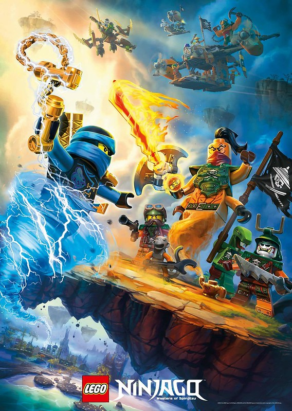 LEGO Ninjago Masters of Spinjitsu Ninja vs Pirates