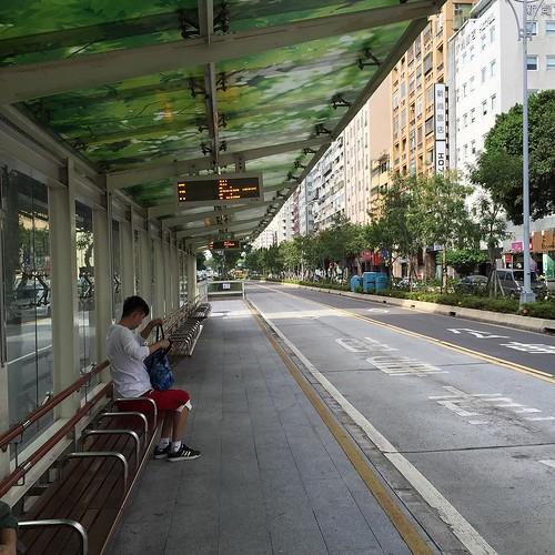 今日からバスで台北巡り!#台北