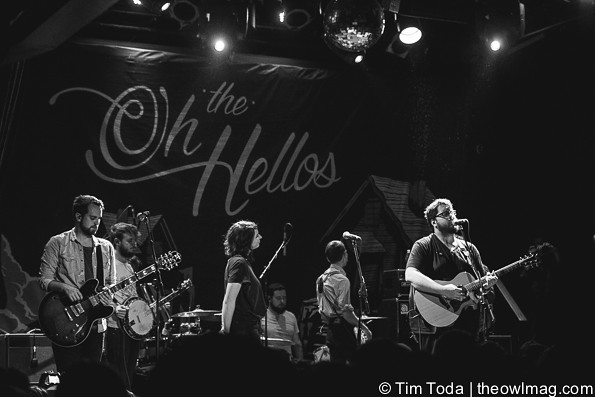 The Oh Hellos @ The Bowery Ballroom, NYC-16