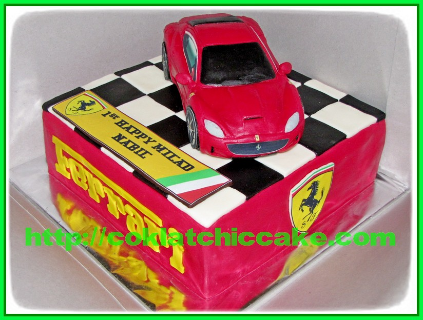 Cake Ferrari
