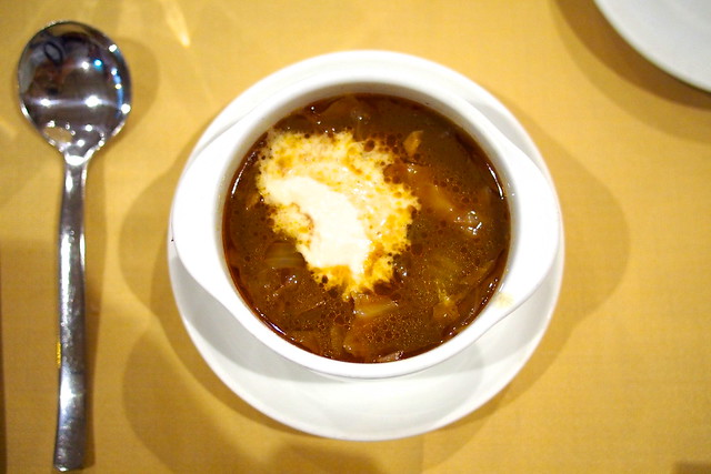 borscht soup, Shashlik Restaurant, Far East Shopping Centre