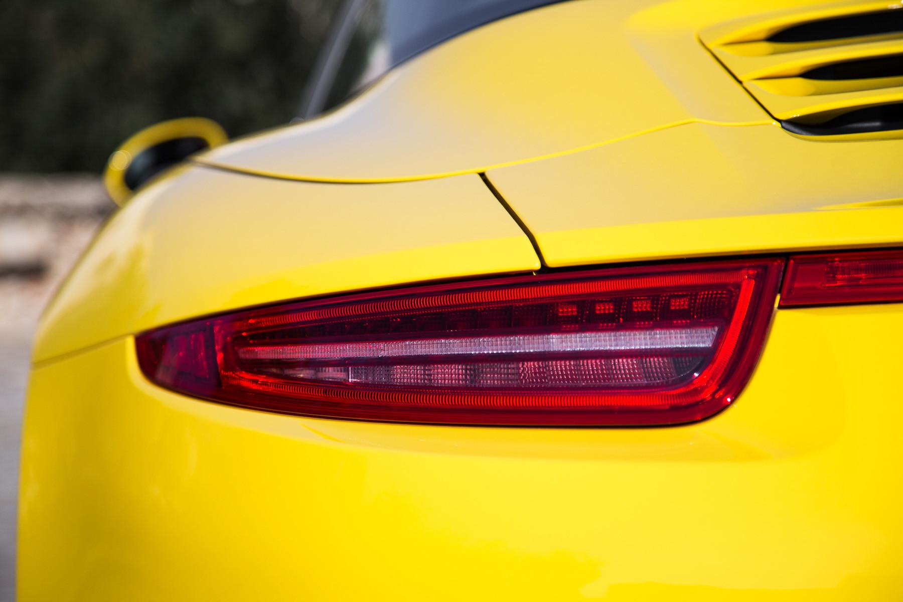 Задние фонари Porsche 911 Targa