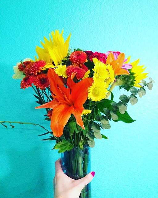 Bouquet from Joshy. 💐