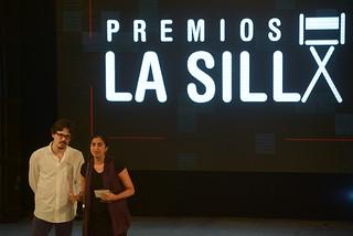 Natalia Cabral. Oriol Estrada. Premios La Silla.