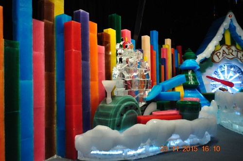 2015 November 23, Opryland Gaylord's Nutcracker Ice Sculptures