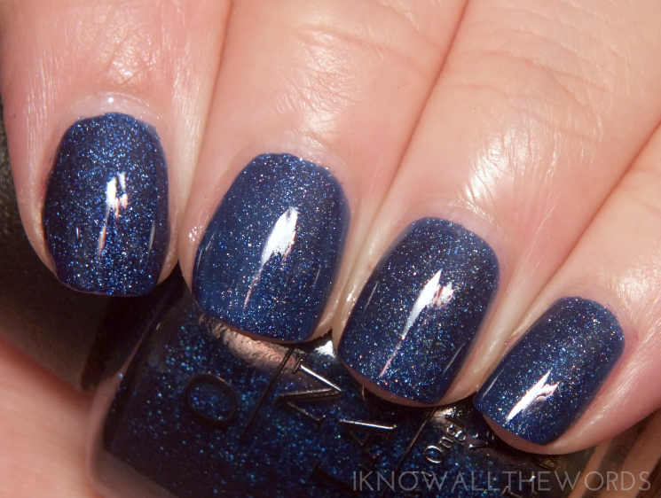 OPI Starlight Collection Give me Space