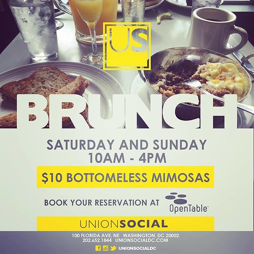 New Year's Day Brunch at Union Social