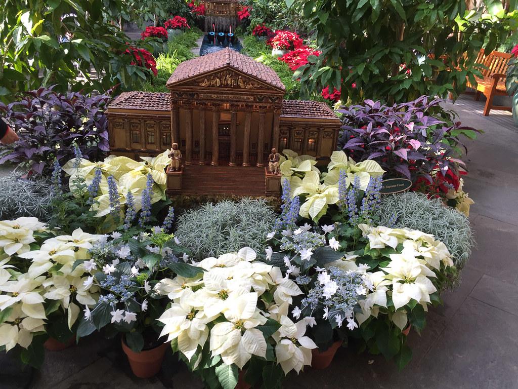 Mini Supreme Court at U.S. Botanic Garden