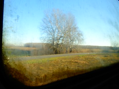 Vonat ablaka