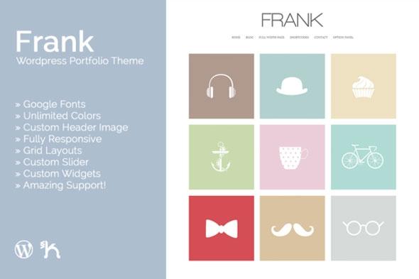 Creativemarket Frank v2.1 – WordPress Portfolio Theme