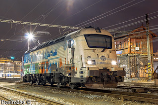 CD Skoda 380 011-7 - Brno hlavni nadrazi
