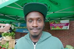 Corey Wilkins, Youth Greenmarket, Lower East Side, Manhattan