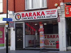 Picture of Baraka Chicken And Pizza, 8 Ye Market, Selsdon Road