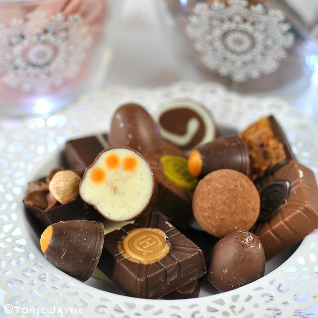 Gluten free chocolates from Hotel Chocolat